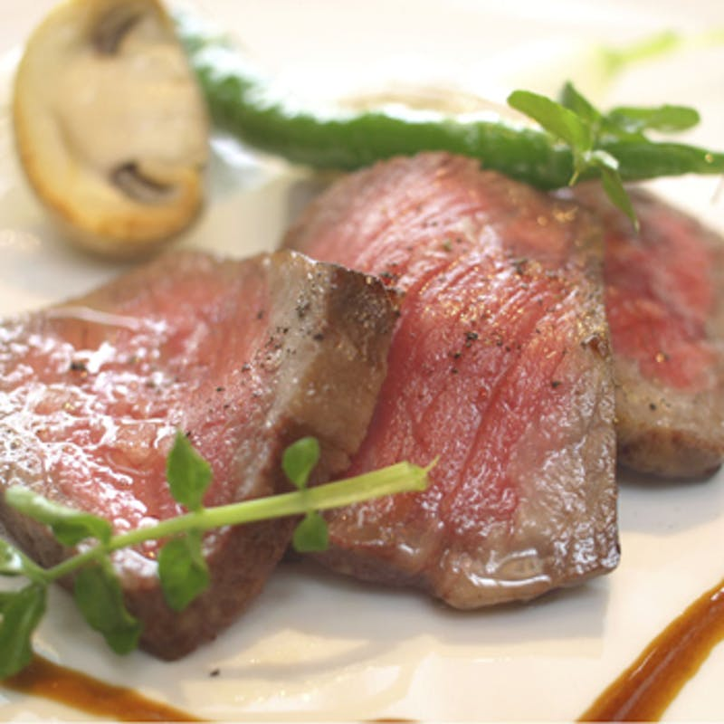 【Menu Degustation(Dinner B)】オマール海老、黒毛和牛など全6品+乾杯スパークリング