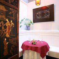まるで小さな美術館 和やかな雰囲気の中で楽しむ本格広東料理