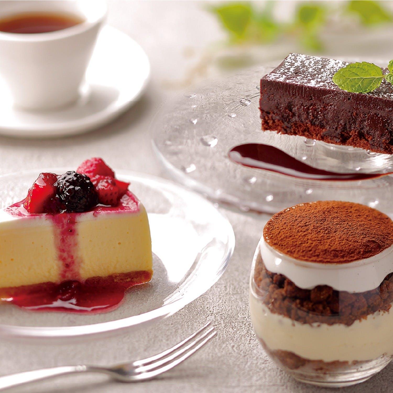 心地よく胸を満たしてくれる季節替わりのデザート