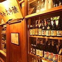 地元の食材には地元の酒で…都内屈指の日本酒の品揃えは堂々の250種