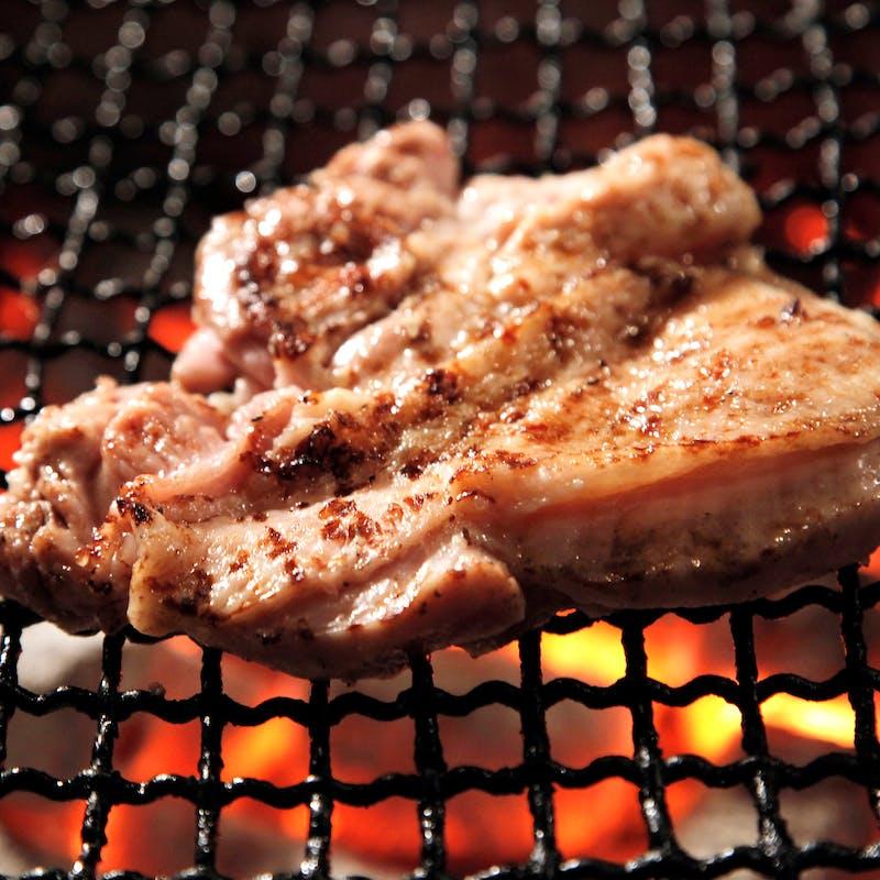 【庵】甲州赤鶏の炭火焼きや手作り豆富等の和食会席 全8品+プラチナ2.5時間飲み放題(個室確約)
