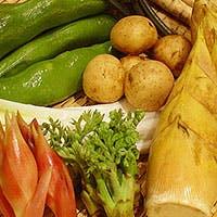 魚介類に野菜を加える事により完全無欠の料理が完成