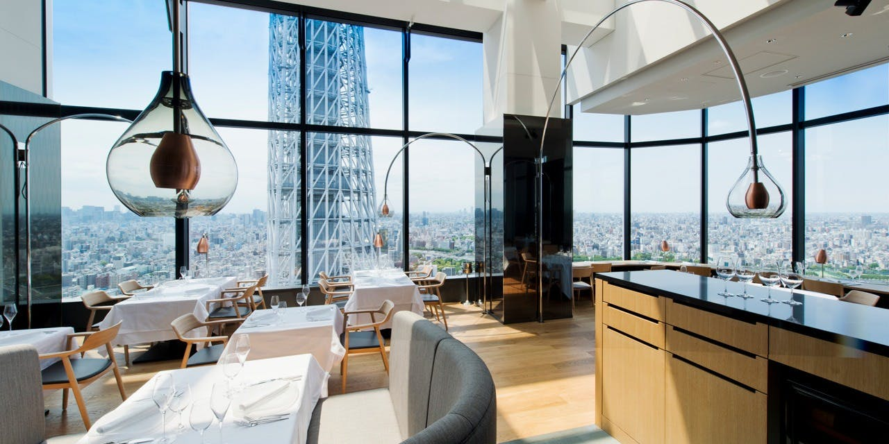 記念日におすすめのレストラン・ラ・ソラシド フードリレーションレストラン/東京ソラマチ31Fの写真2