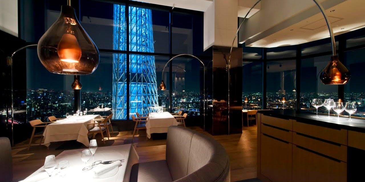 記念日におすすめのレストラン・ラ・ソラシド フードリレーションレストラン/東京ソラマチ31Fの写真1