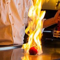 厳選された食材を心置きなく楽しむヘルシー鉄板焼