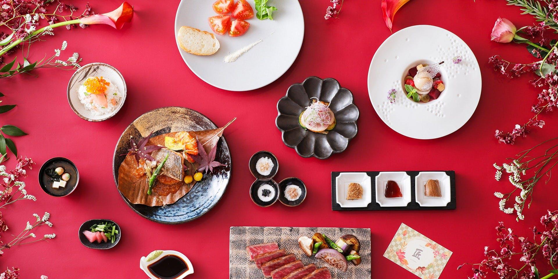記念日におすすめのレストラン・TAKUMI-鉄板焼-/ストリングスホテル 八事 NAGOYAの写真2