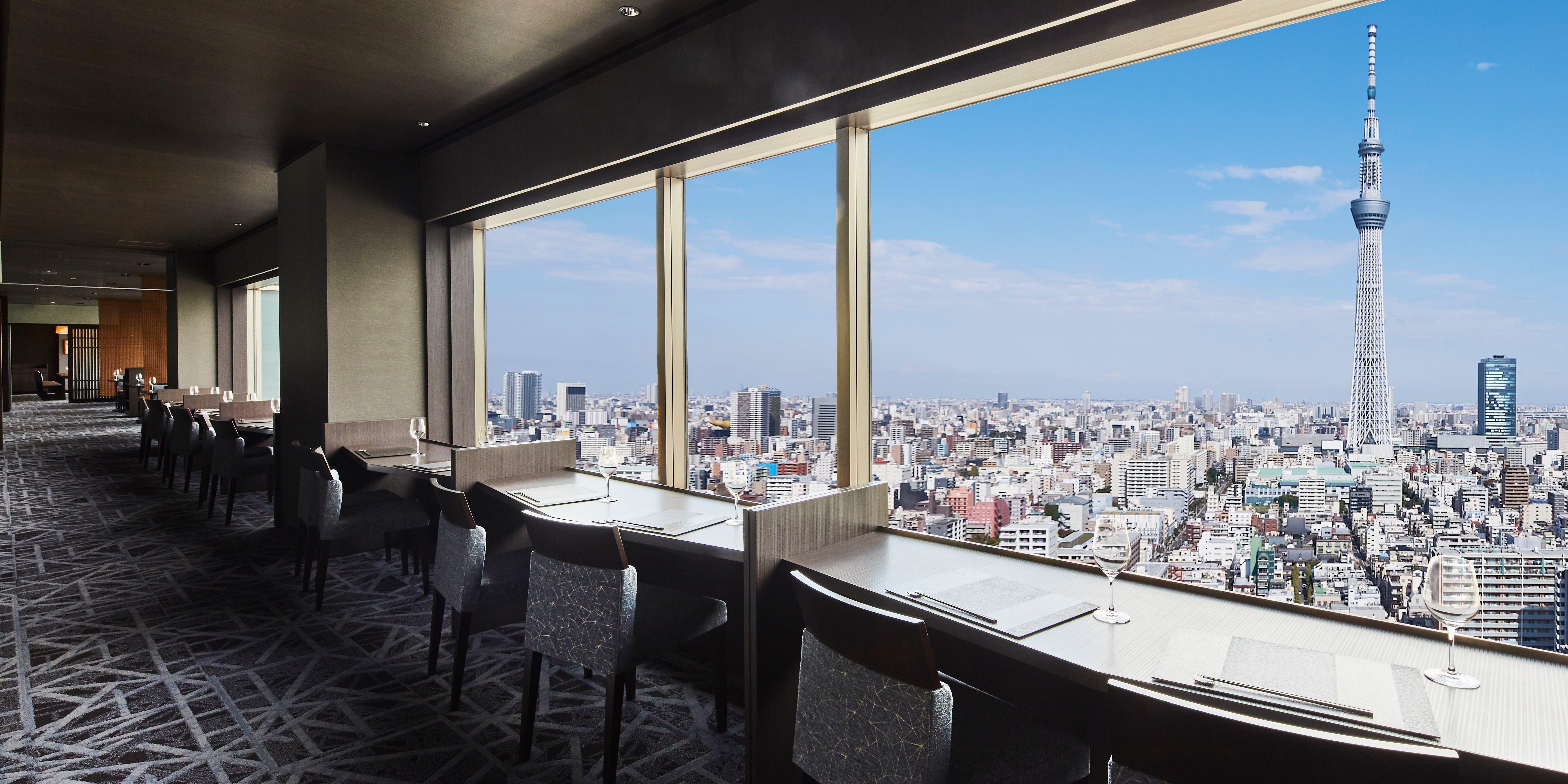 記念日におすすめのレストラン・スカイツリー(R)ビューレストラン 簾/東武ホテルレバント東京の写真2