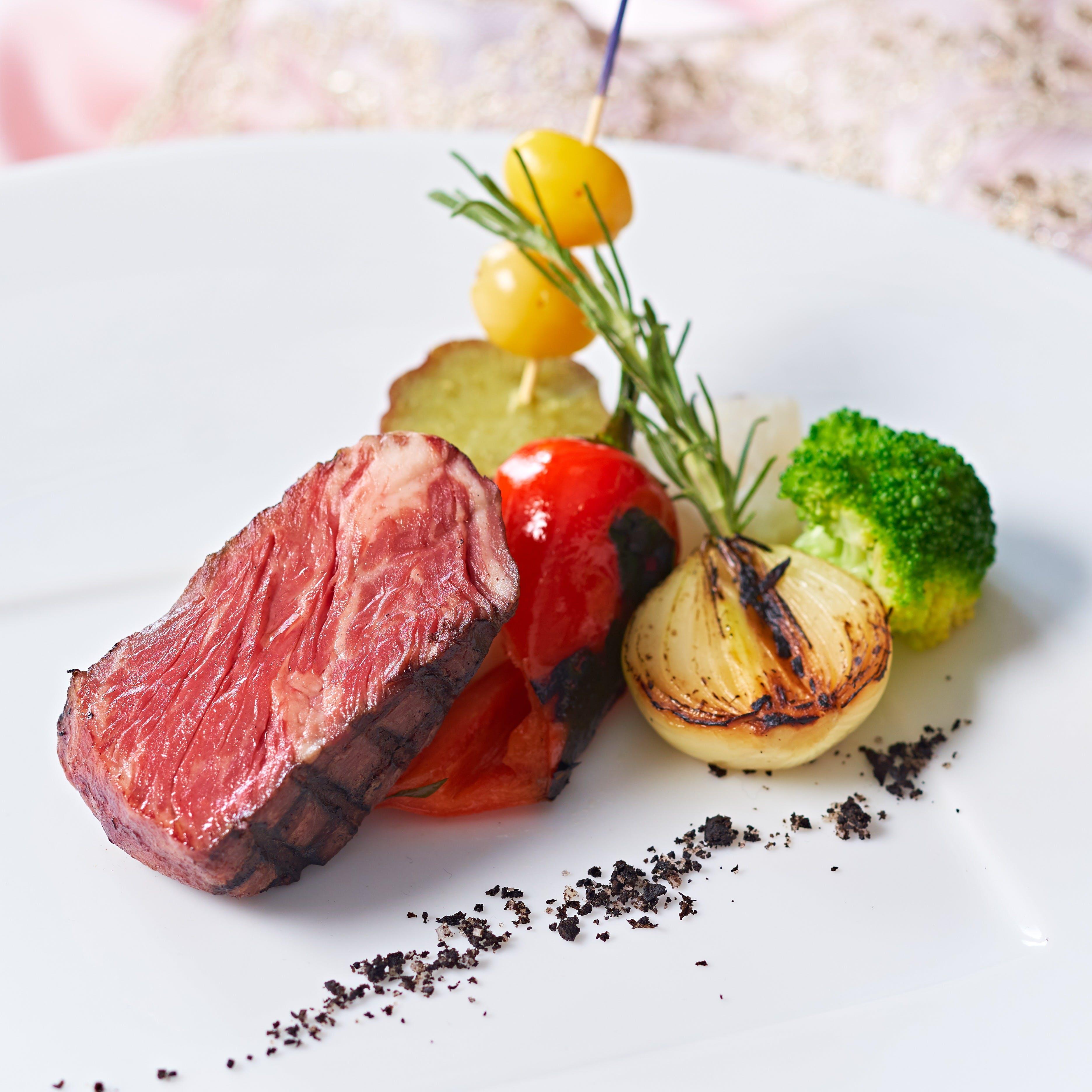 横浜野菜や横浜ブランドミートをグリルスタイルで、美容にも嬉しいひと皿に