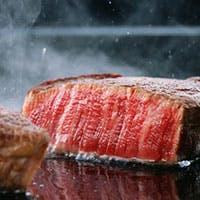 最上級のステーキと旬の食材を堪能できるワンランク上のステーキハウス