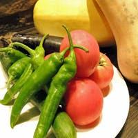 無農薬・有機野菜 近郊から仕入れた新鮮な素材が織り成す料理