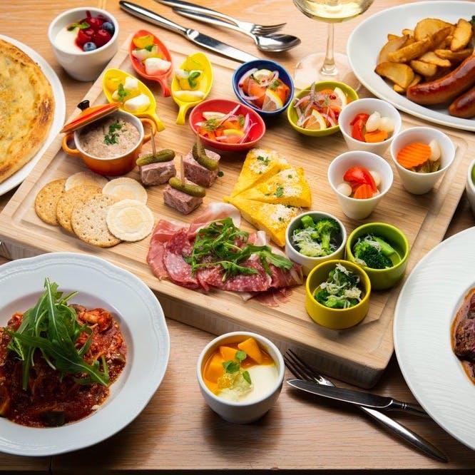 カシータならではのお料理や豊富なドリンク
