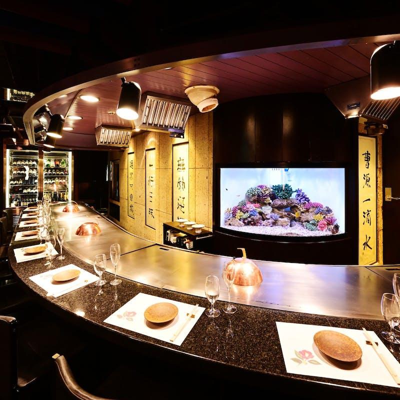 【ステーキディナーコース9月】フォアグラ・和牛などを目の前で調理(カウンター限定)