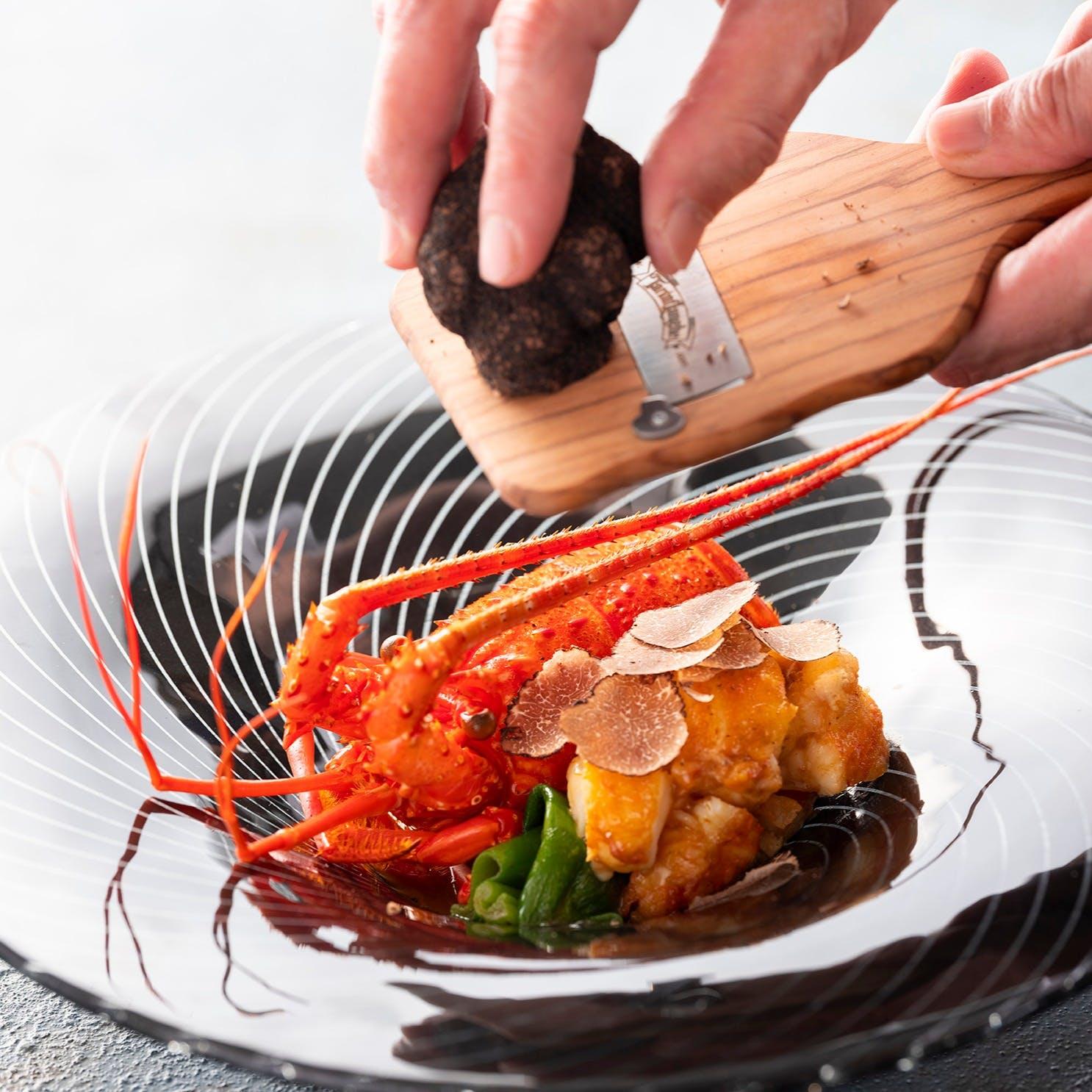 伝統的な会席料理に一手間加え実現する「Neo Japanese Dinner」