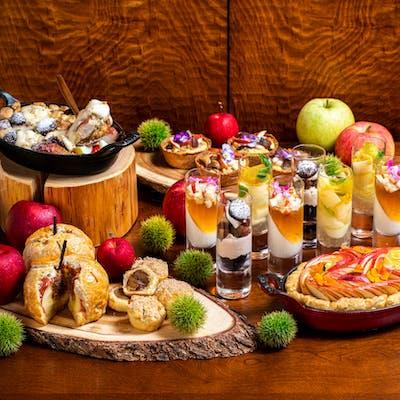 インターコンチネンタルホテル大阪のスイーツビュッフェ「リンゴと栗のスイーツハーベスト」