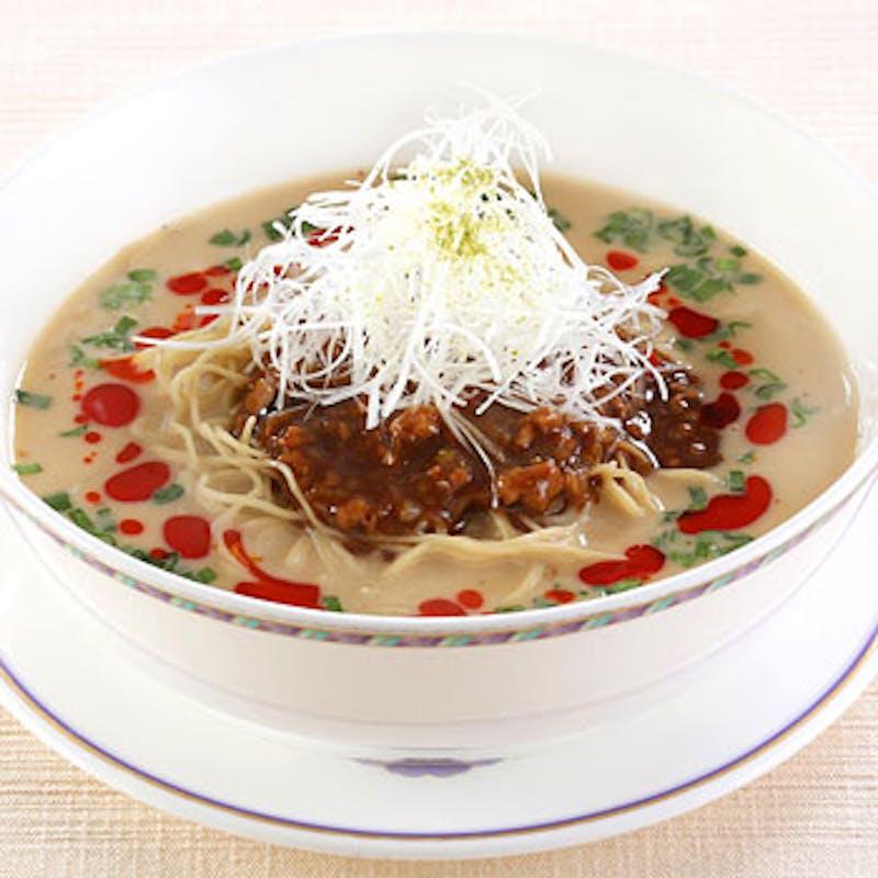 【担々麺ランチ】濃厚でコクのあるスープの担々麺+選べる1ドリンク(平日限定)