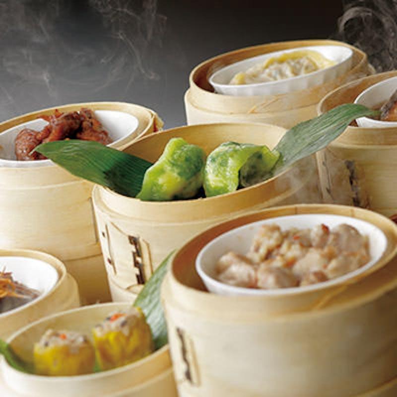 【飲茶ランチ】飲茶メニュー1品にメイン料理など全7品+選べる1ドリンク(平日限定)