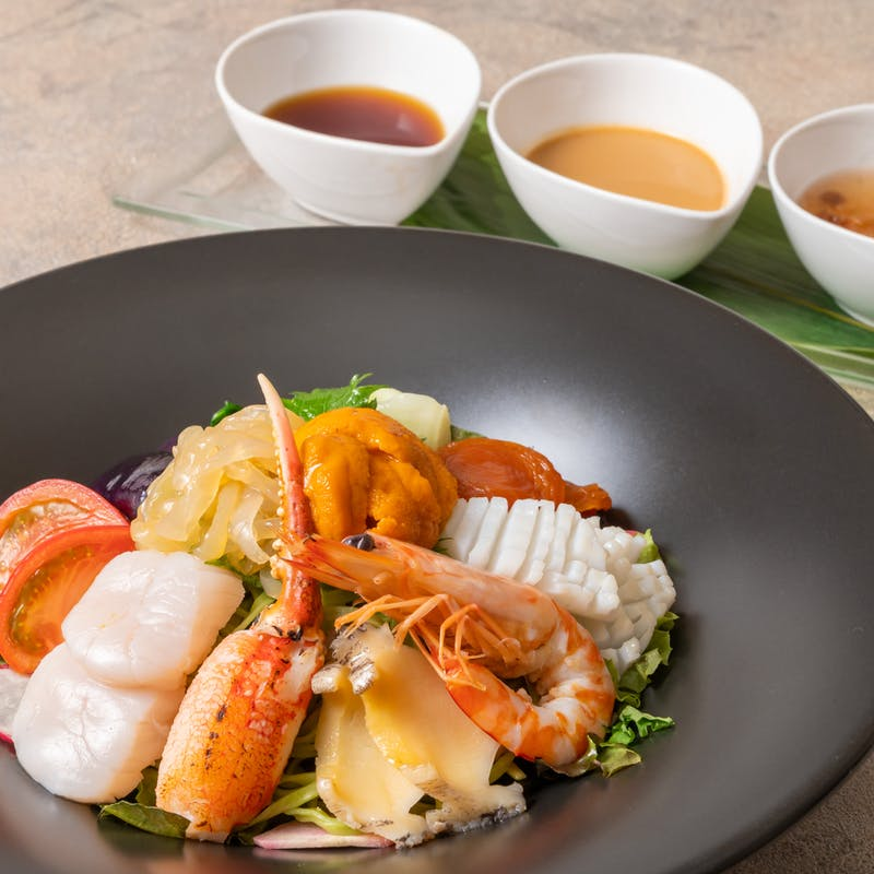 海鮮翡翠冷麺(6/23~9/30限定)