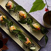 情緒漂う庭園を望みながら、京都の食文化を感じてください