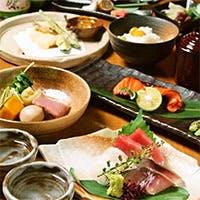 日本料理を極めた料理長による、和牛や旬の魚を活かしたコース