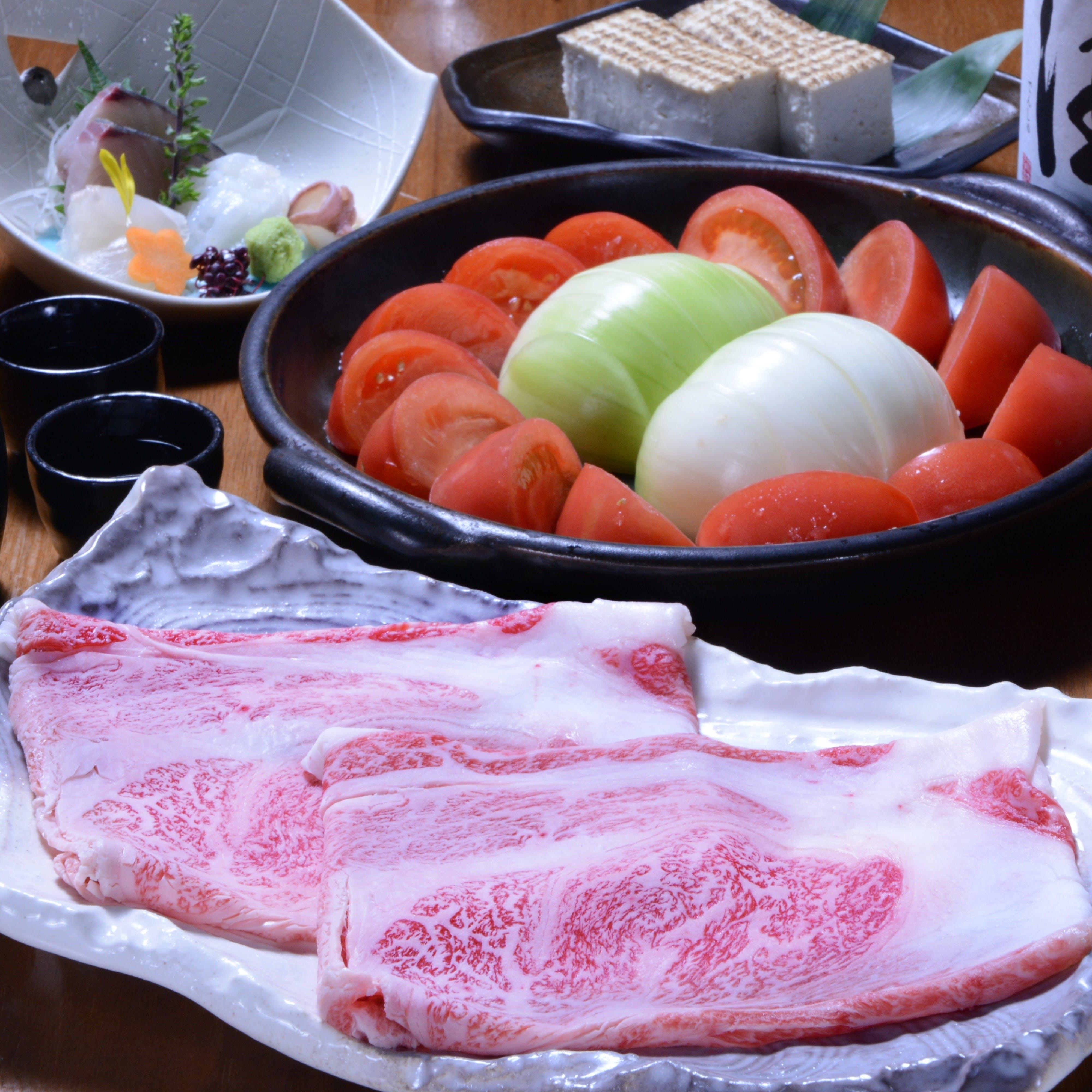 Koibumi名物!トマト牛鍋。