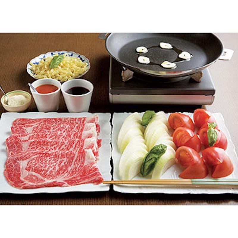 【トマトすき焼き】を名物料理「文箱八寸」と共に楽しむ+乾杯のスパークリングワイン1杯
