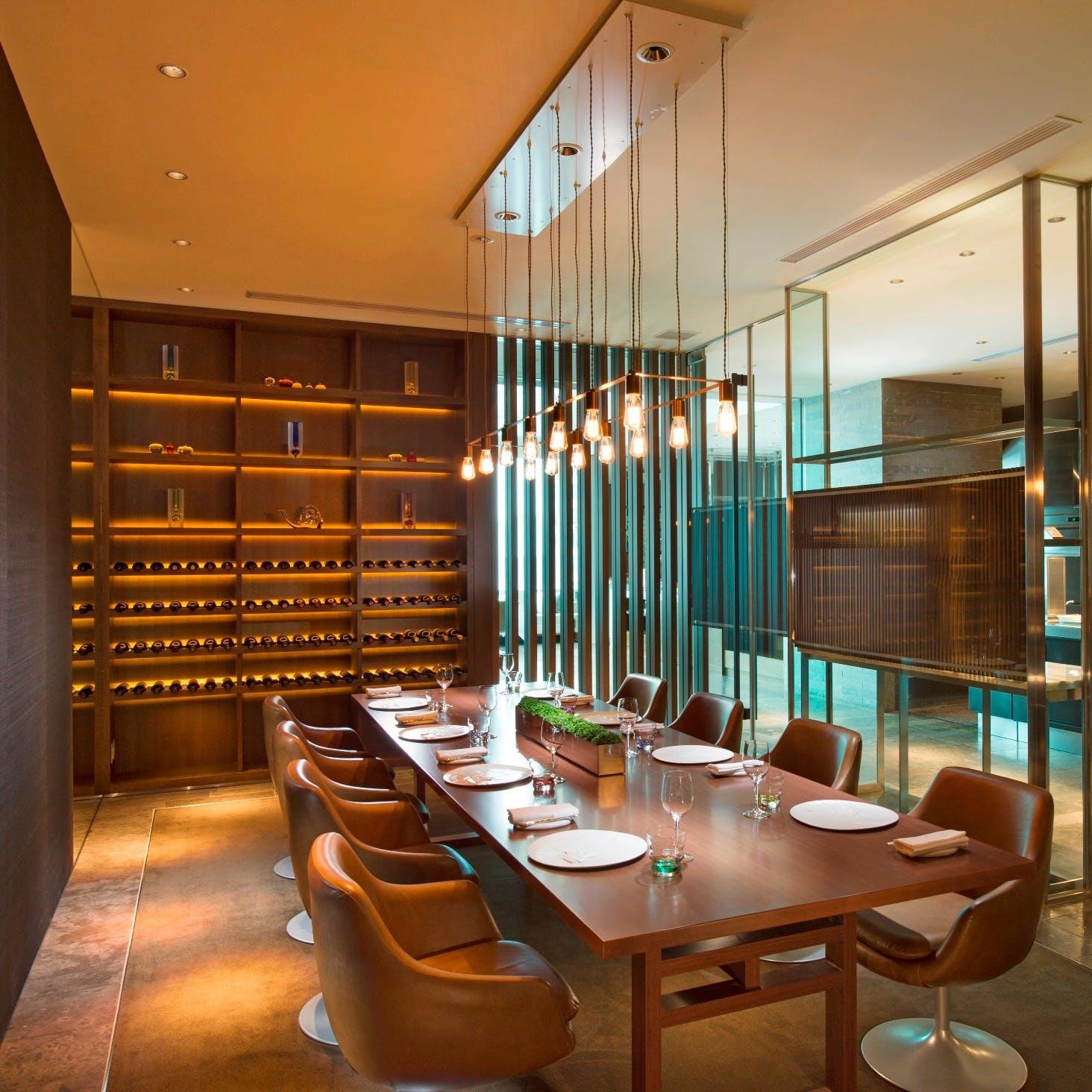ビジネスや会食にも最適な個室