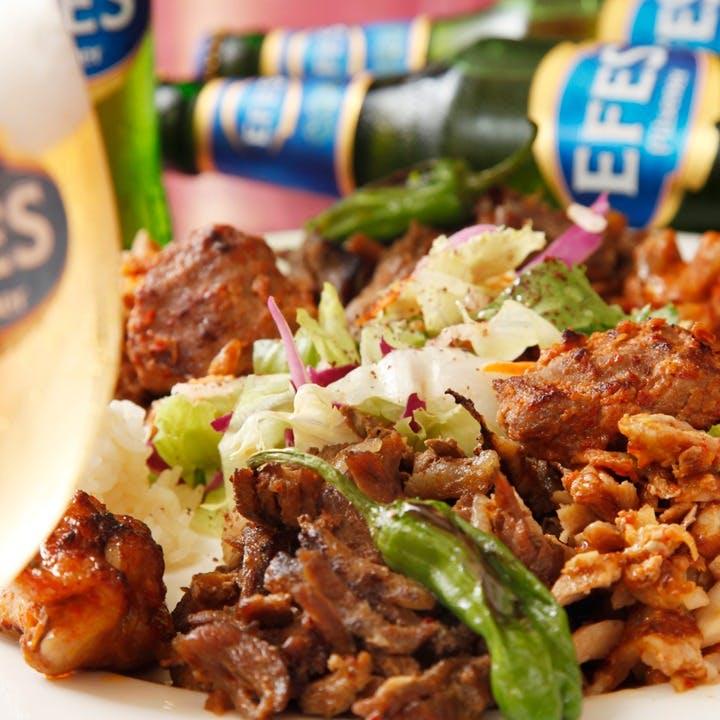 ケバブを代表とする世界の三大料理であるトルコ料理を銀座で堪能