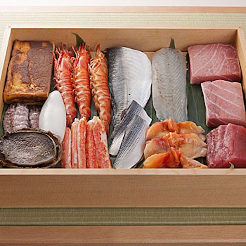 【ディナー茶懐石コース】焼き物、握り寿司など全8品+シャンパンハーフボトル