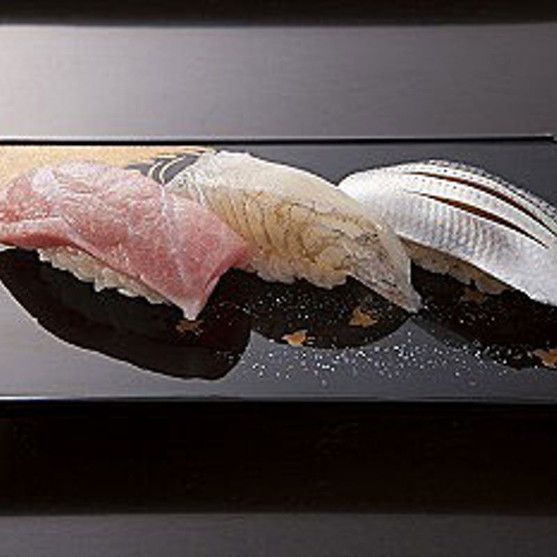 【お手軽ランチコース】握り寿司10貫、甘味など全3品
