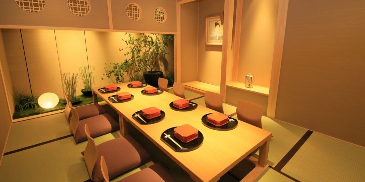 記念日におすすめのレストラン・京懐石 美濃吉 東武池袋店の写真2