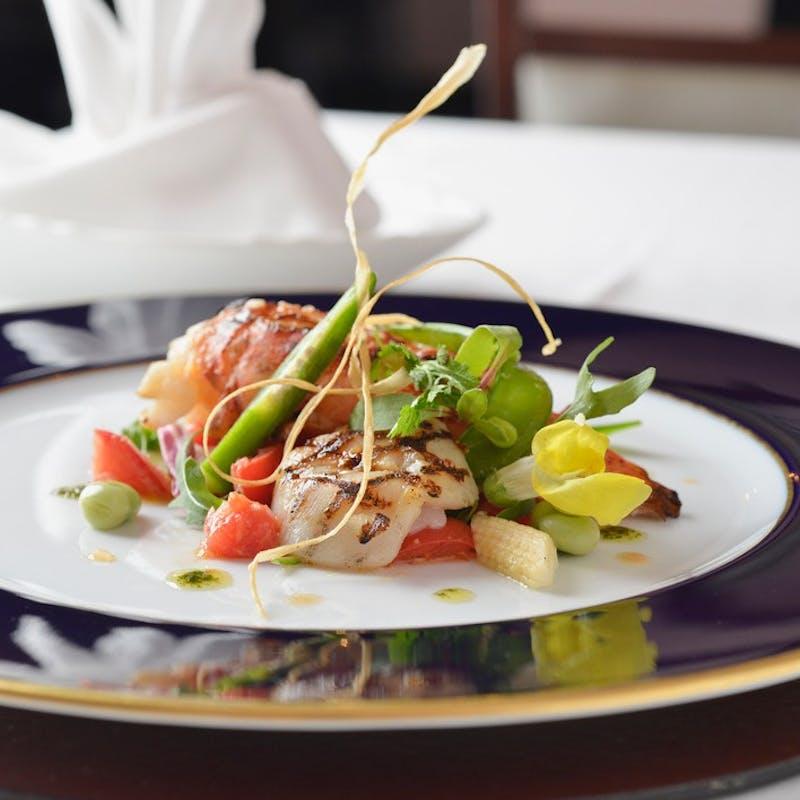 【ランチMENU B】それぞれ選べるパスタ・肉&魚のWメイン・前菜4種盛 など全7品(一休限定・10%OFF!)