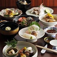 新鮮な天然鮮魚を使用した海鮮料理