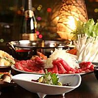 厳選食材が饗宴する美食の数々