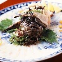 瀬戸内のお魚、天然物のオコゼをご堪能ください