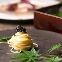 """旬の食材にこだわった""""季節を感じるイタリア料理""""と美味しいワインのマリアージュ"""