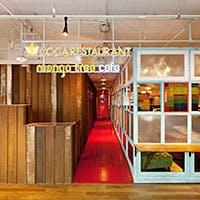 """元祖""""タイスキ""""「コカレストラン」&「マンゴツリーカフェ」を一度に楽しめる空間"""
