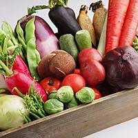旬の野菜、素材へのこだわり