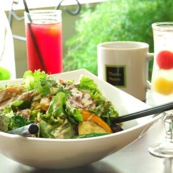 【乾杯スパークリング付】こだわり野菜をふんだんに使った菜園コース!心と体に美味し…