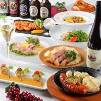 ドイツ直輸入にこだわり厳選されたビールを提供