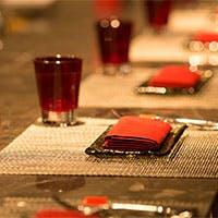 レストラン、ラウンジ、バー。目的やシーンに合わせて楽しめる空間