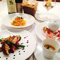 シェフこだわりの食材×イタリア伝統の郷土料理
