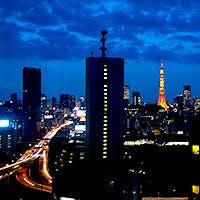 東京を代表する三大ビューの夜景を望むハイセンスな空間