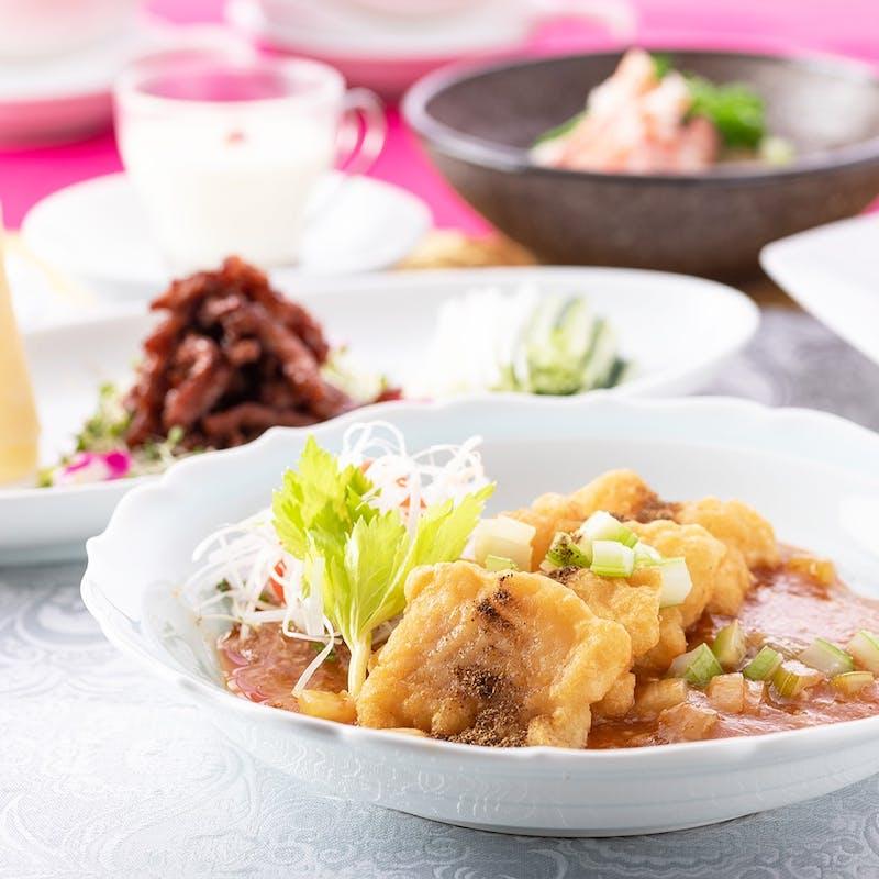 【カジュアルコース】蒸し点心2種、麻婆豆腐ご飯など 全10品