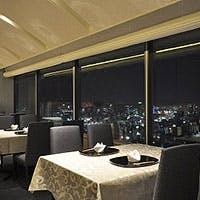 神戸らしいパノラマを描く、地上34階からの眺望