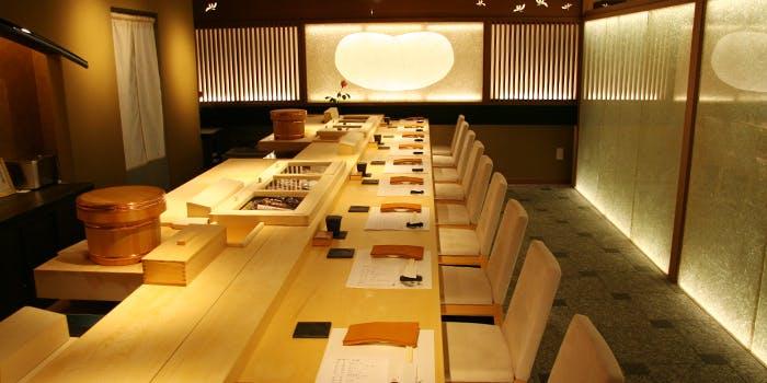 記念日におすすめのレストラン・銀座 鮨正の写真1