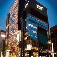東京タワーを望む、夜景がお出迎え