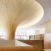 京都の竹を使用した癒しの「和空間」
