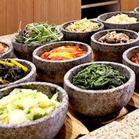 焼肉メニューの他、種類豊富な韓国料理メニューもご用意しております