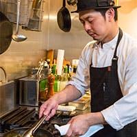 野菜ソムリエのシェフが新鮮で美味しい旬の料理をご提供します