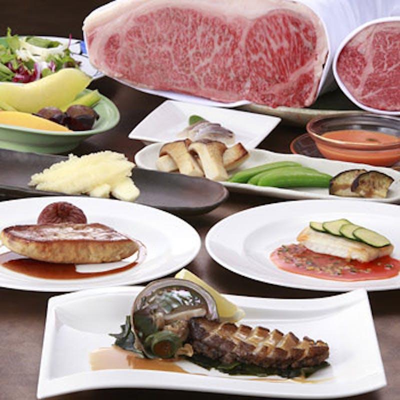 【瀬戸コース】本日の魚料理・鮑・特選和牛フィレorサーロインが選べる全8品